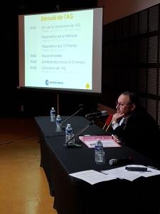 Stéphane PAGLIA lance la 1ère  AG collaborative de la CCIPA